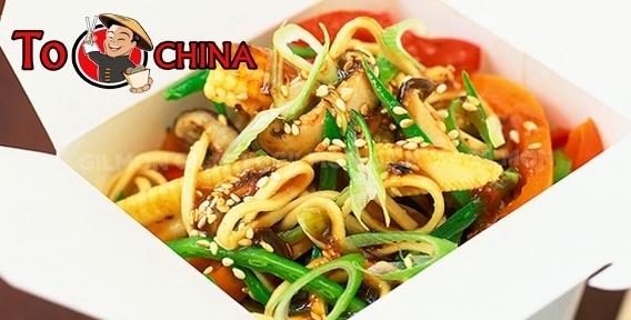 Хотите почувствовать настоящую атмосферу Азии? Попробуйте лапшу WOK от ресторана доставки китайской кухни To China
