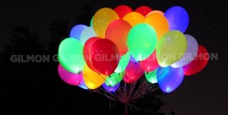 Проведение детского праздника, светящиеся шары и композиции из шаров от праздничного агентства 100 чудес.