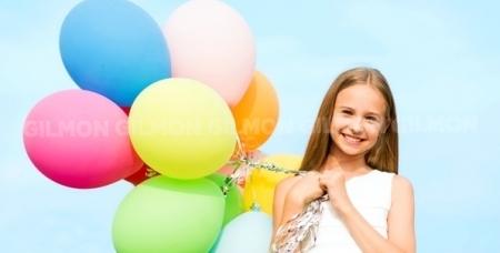 Детский праздник, шоу мыльных пузырей, свадебное оформление зала, взрыв шара и композиции из шариков от праздничного агентства Arcobaleno